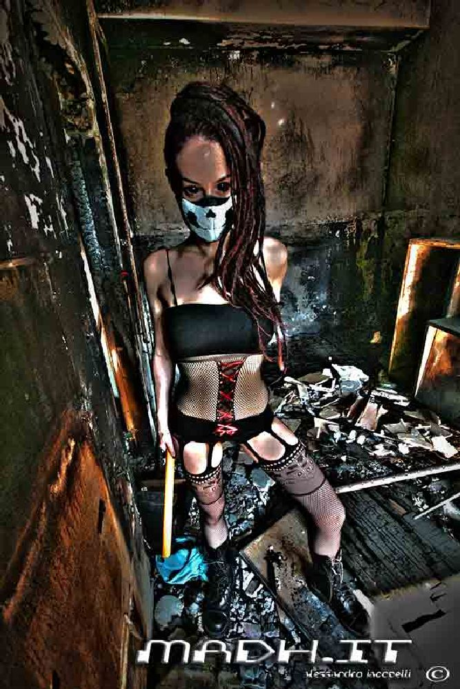 Photo in Random #gas mask #fire #post apocalyptic