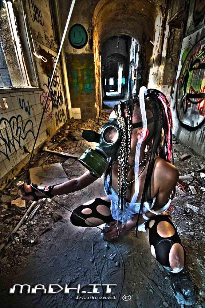 Photo in Random #cyberpunk #zombie hospital #berlin