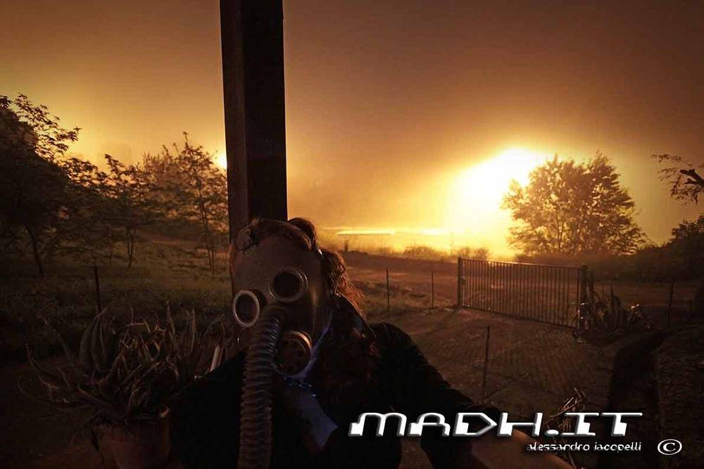 Photo in Random #nuclear #post apocalittic #gas mask