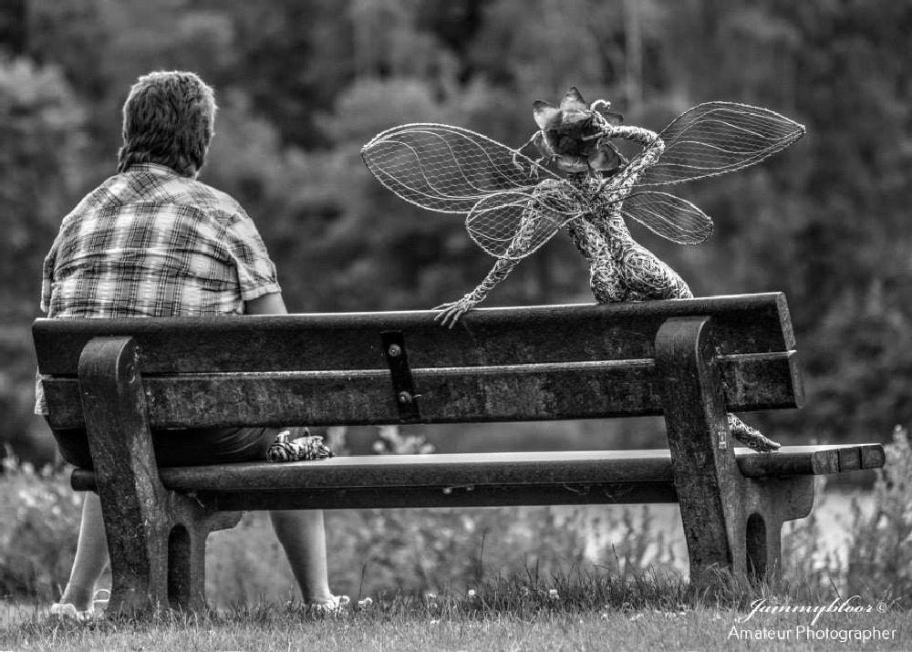 Photo in Still Life #black #& #white #dreamer #nikon #fairy #jammybloor