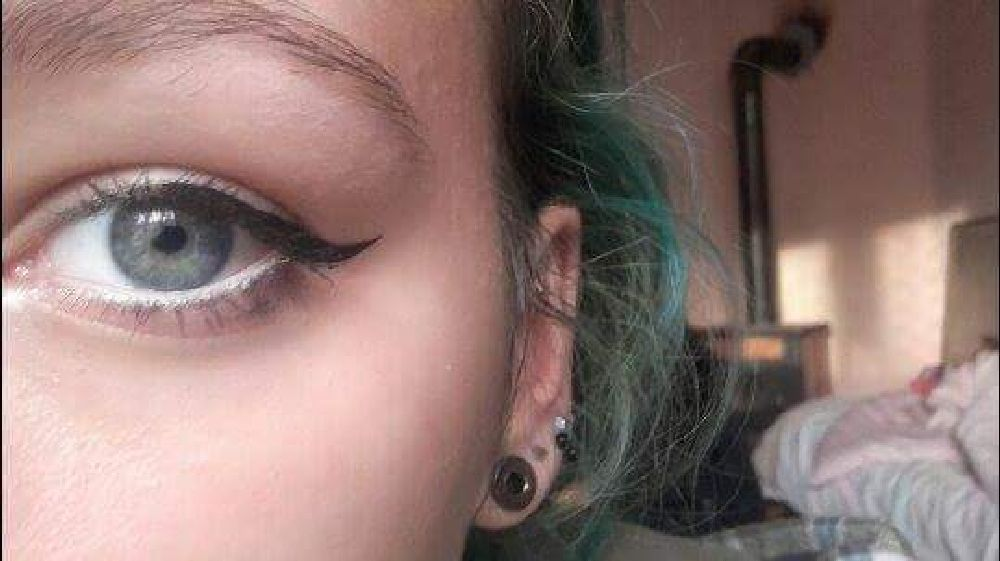 Photo in People #eyes #makeup #piercing