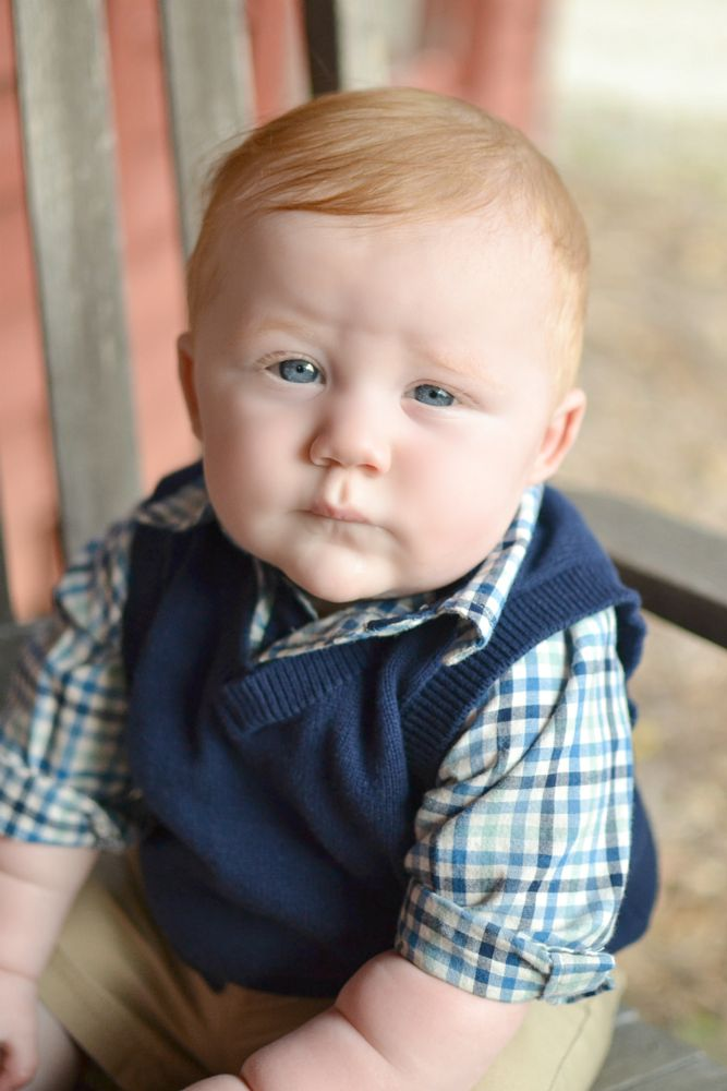 Photo in Family #baby #children #kids #baby boy #serious #close up #eyes