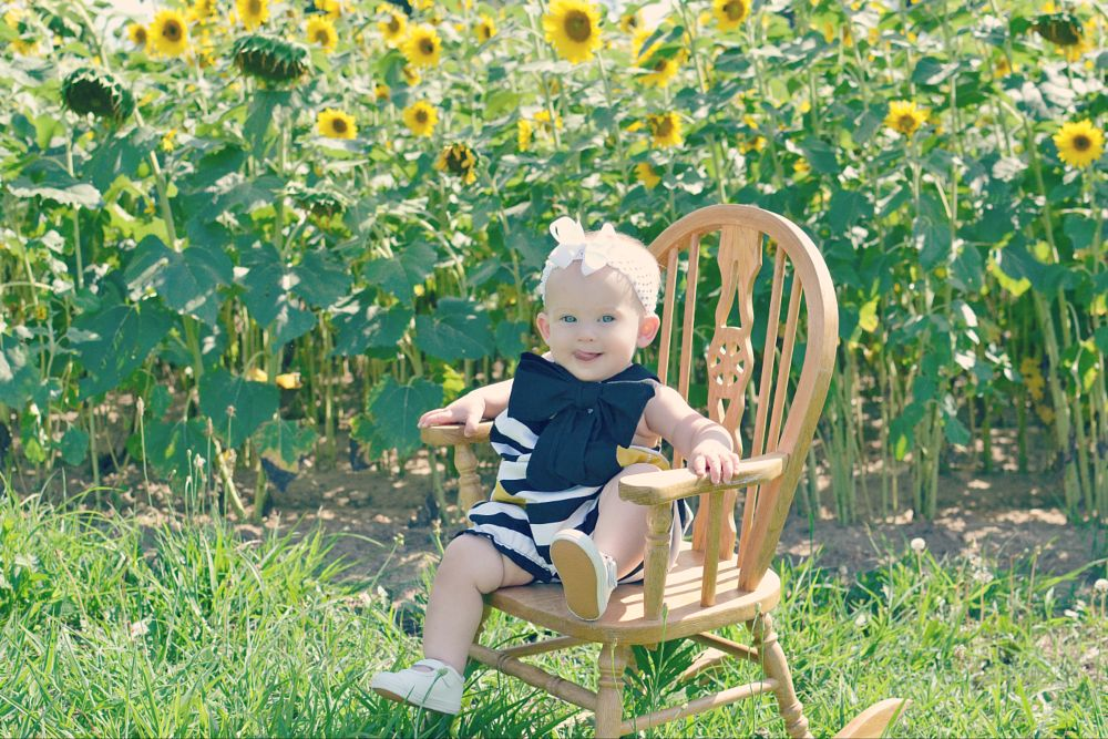 Photo in Family #sunflowers #kids #children #summer #flowers #sunflower field