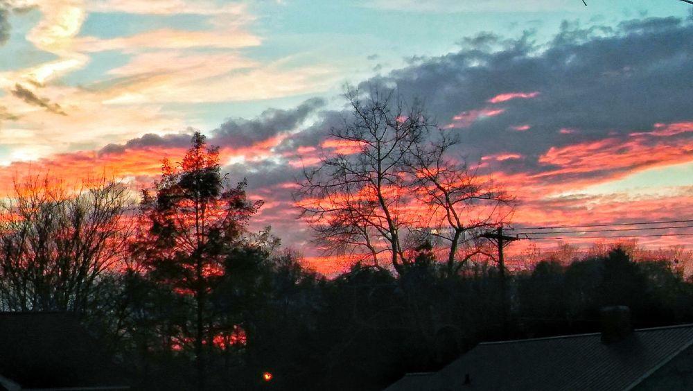 Photo in Random #cloudssuntsets