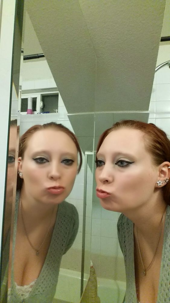 Photo in Abstract #mirror #image #selfie