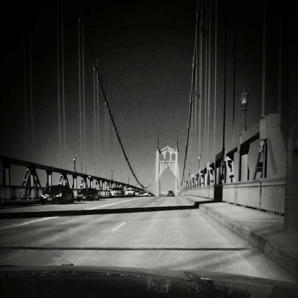 Photo in Street Photography #bridge #black #and #white #st. #johns