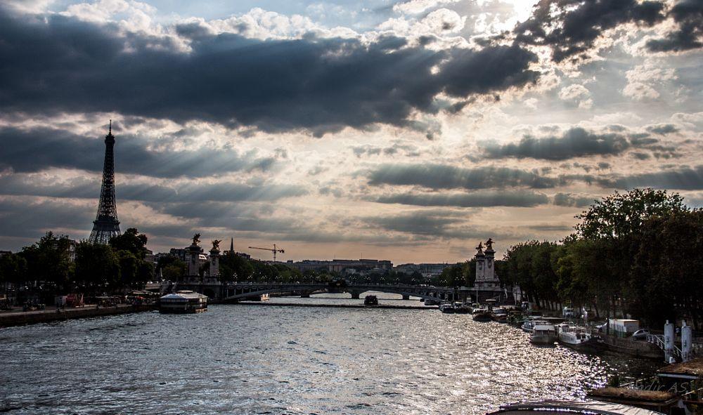 Photo in Travel #paris #effeil #seine