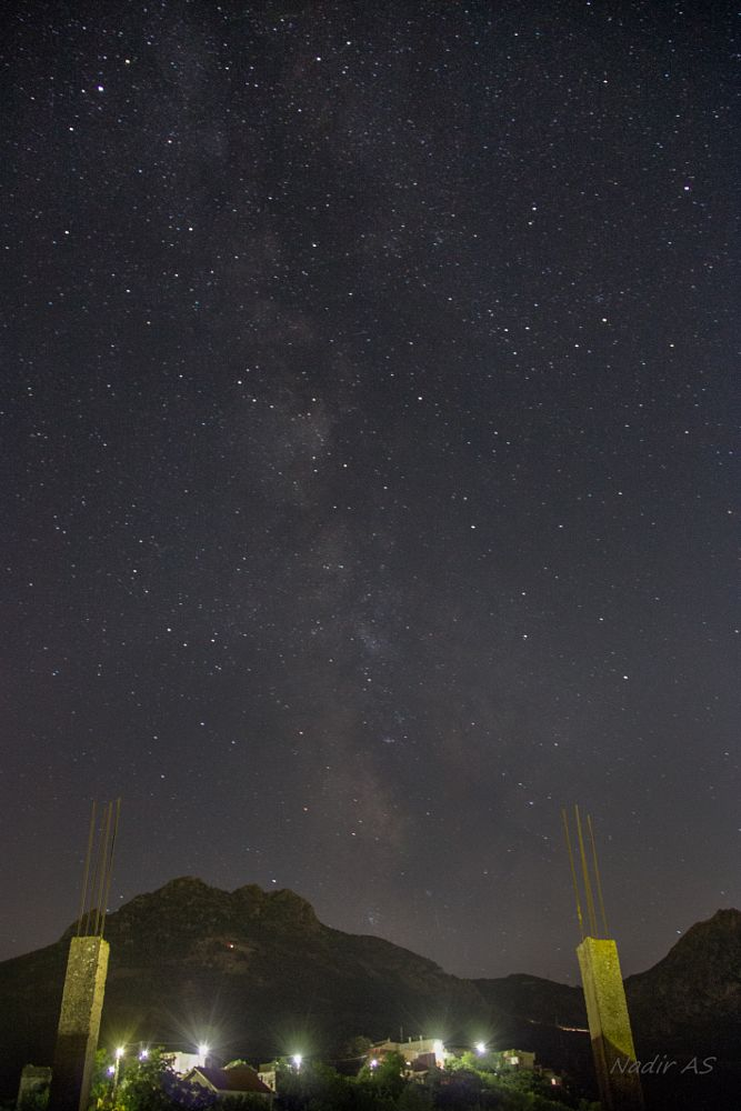Photo in Landscape #stars #algeria #tizi ouzou