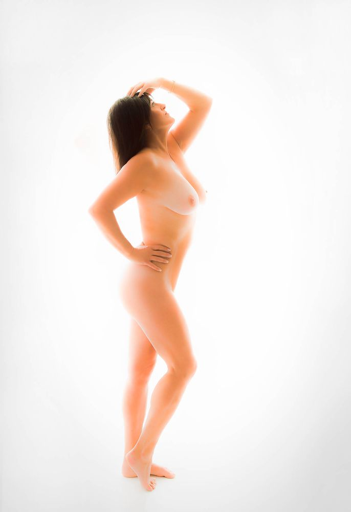 Photo in Nude #people #woman #girl #model #portrait #nude #naked #nue #art #fine #body #figure #female #sexy #breasts #topless #glamour #boudior #sculpture #beauty #canon #studio #photo of day #legs #high key