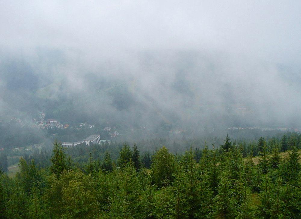 Photo in Landscape #mist #fog #berg
