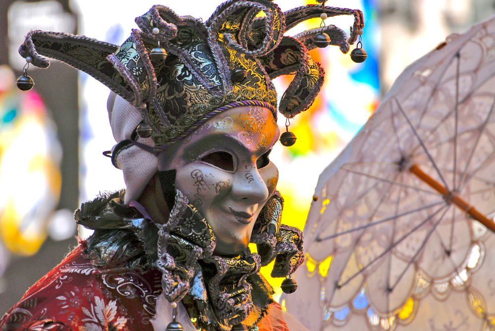 Photo in People #venice #italy #mask #carnival
