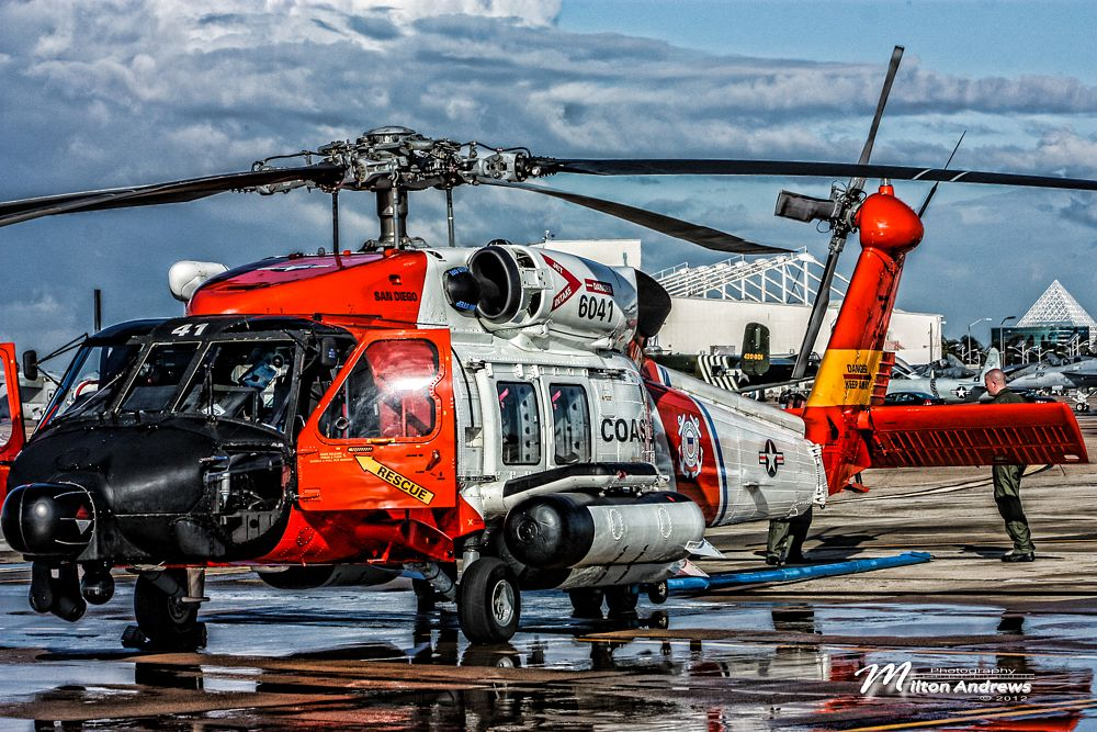 Photo in Vehicle #helicopter #coastguard #military