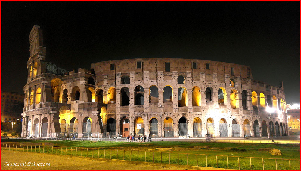 Photo in Random #colosseum #italy #night #rome