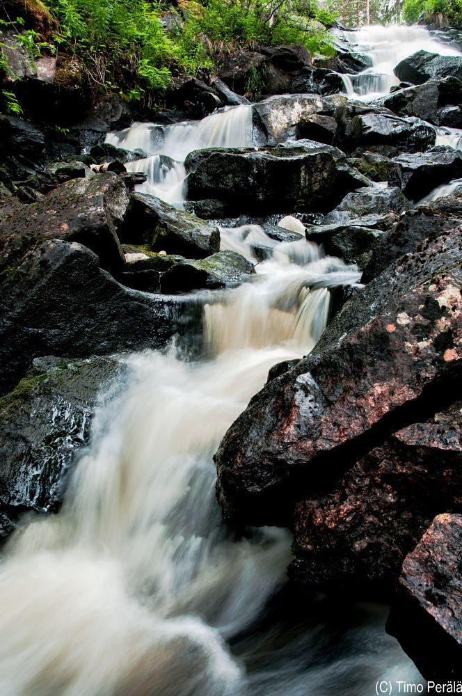 Photo in Nature #varisköngäs #koski #putous #vaterfall #stones