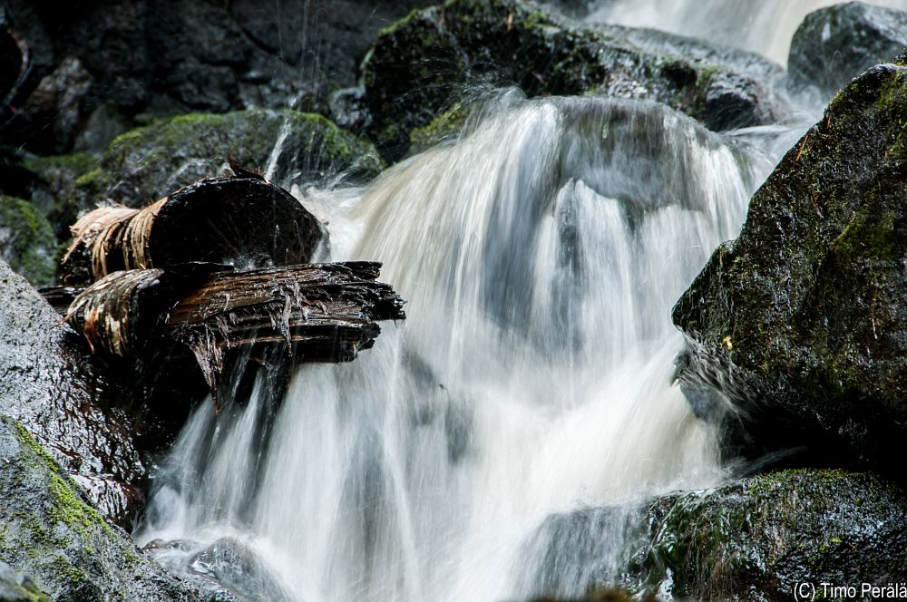 Photo in Nature #varisköngäs #koski #putous #stones #waterfall