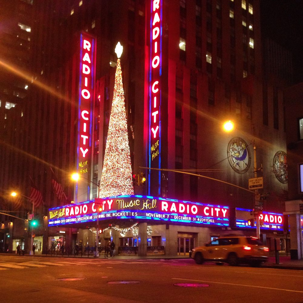 Photo in Random #radio city music hall #nyc #travel