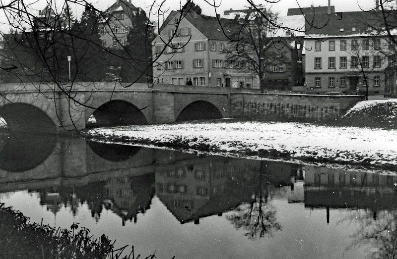 Photo in Random #jagst #bridge #brucke #crailsheim