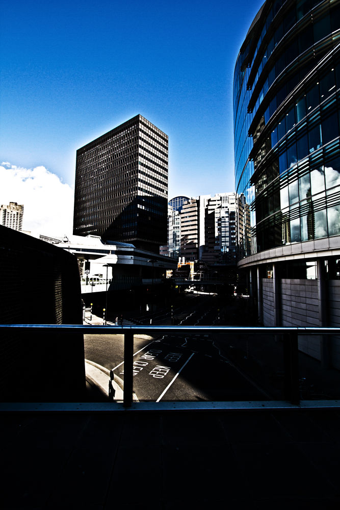 Photo in Architecture #london #blue #sky #empty #buildings #streets #architecture