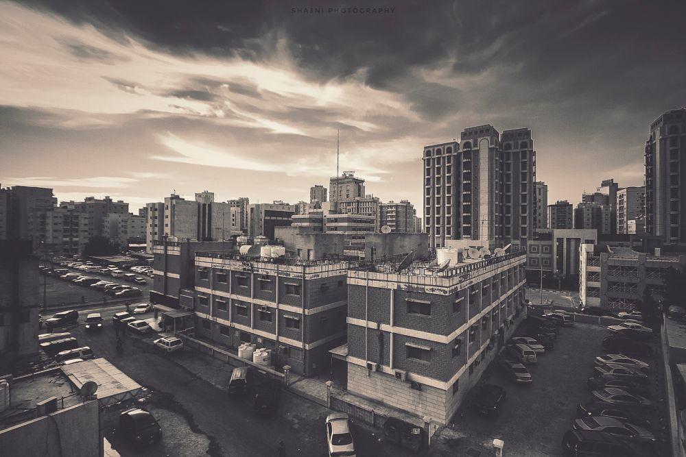 Photo in Black and White #sha3ni #photography #zeeshan #kuwait