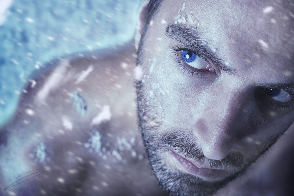 Photo in Portrait #portrait #selfportrait #sony #35mm #50mm #sony a7 #blue eyes #eyes #art #photographer #cold