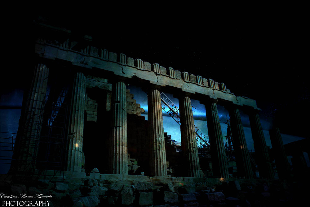 Photo in Architecture #acropolis #architecture #athens #space #monument #greece