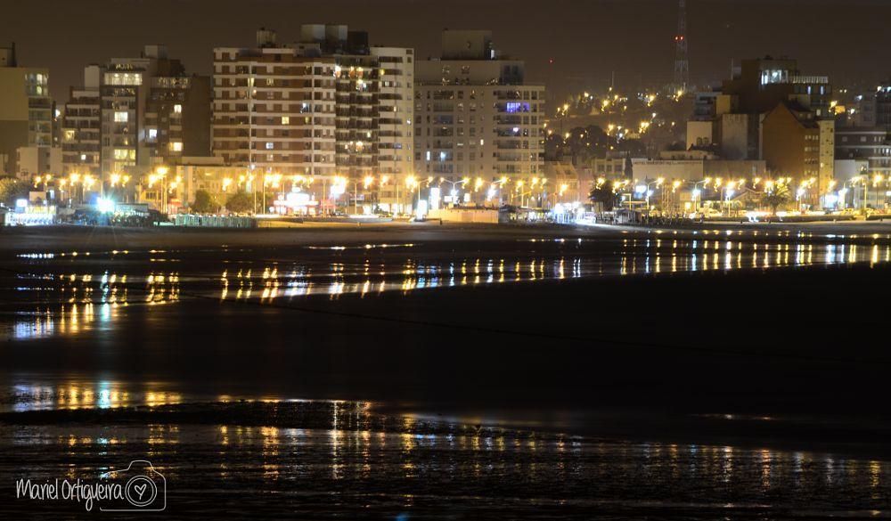 Photo in Cityscape #noche #night #puertomadryn