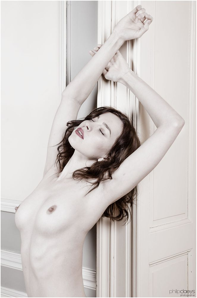 Photo in Fine Art #nude #female #breasts #thoughts #private #white