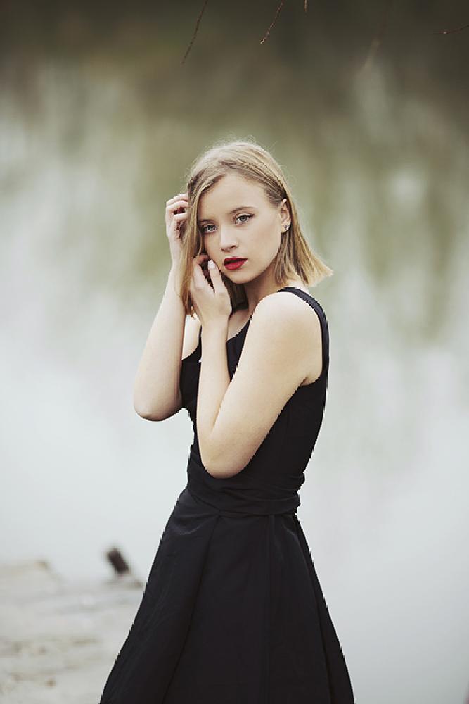 Photo in Portrait #beauty #woman #girl #dress #fashion