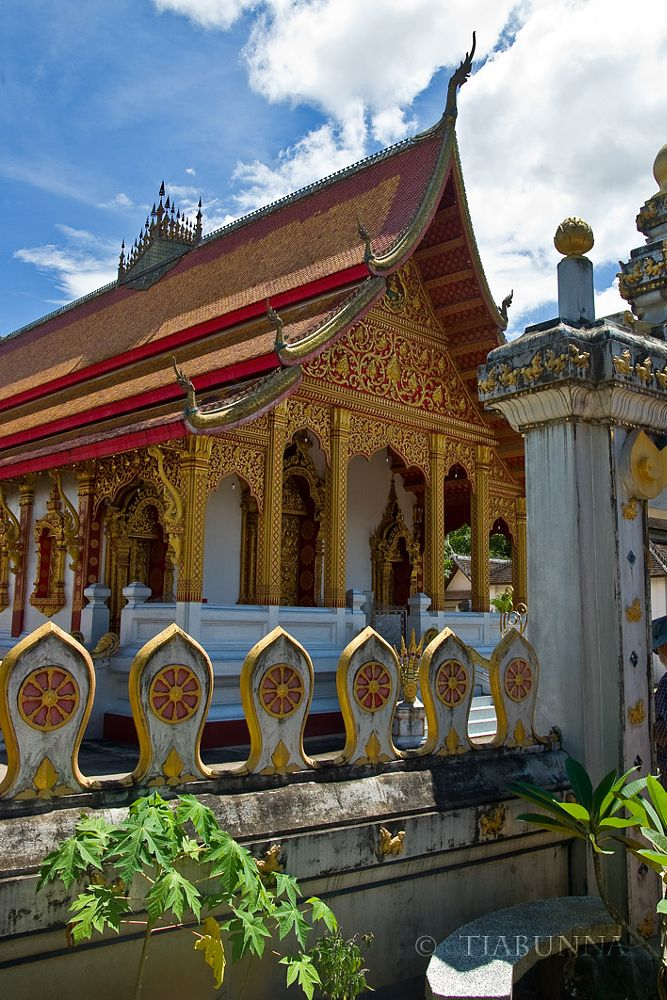 Photo in Travel #laos #buddhist temple #wat #luang prabang #monastery