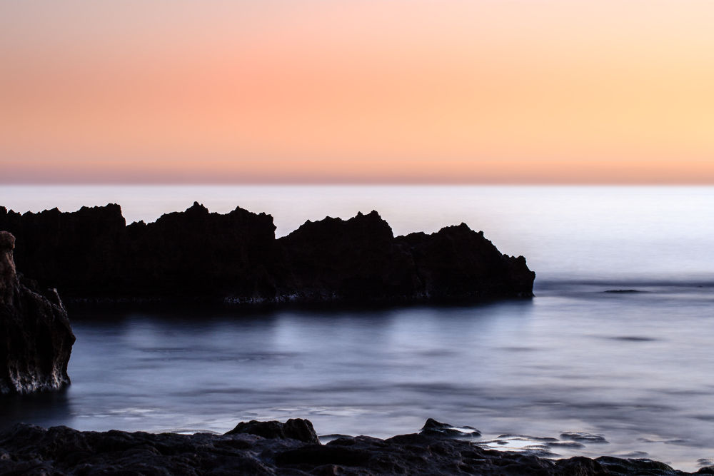 Photo in Landscape #beach #spanien #sky #sea #landscape #rock #sunset #playa #morning #spain #long exposure #mar #mediterranean #denia #las rotas #herbert #seiffert