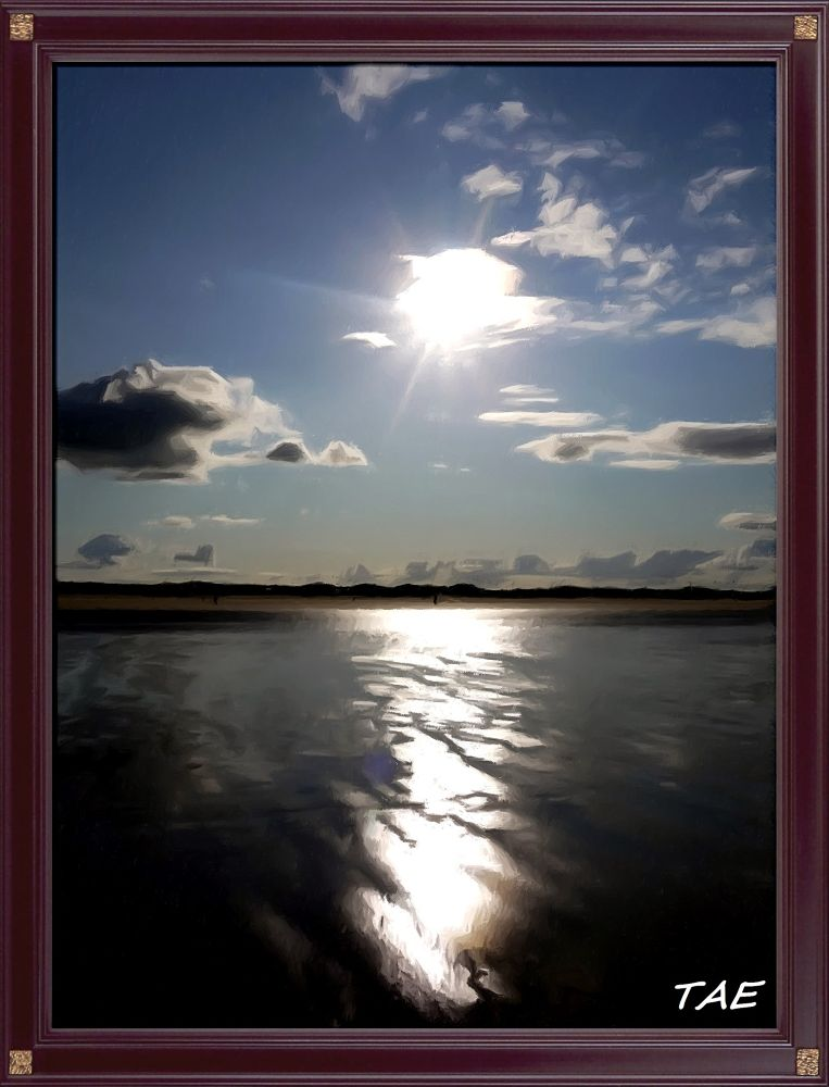 Photo in Random #art #oil #painting #sea #shore #sunset #digital #scotland #fine #frame #canvas #andrews #framed #ebvening