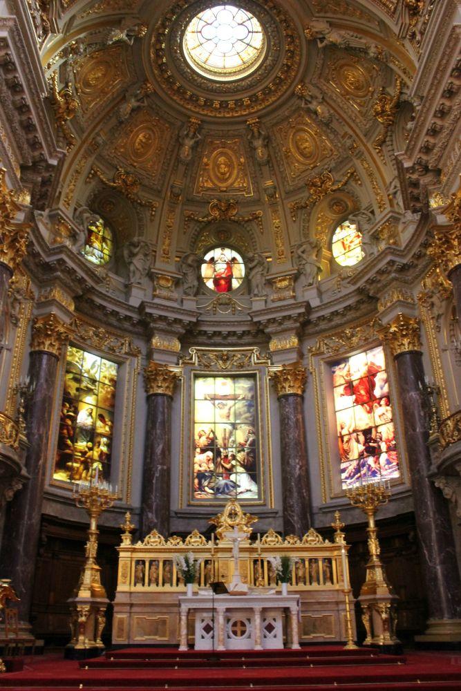 Photo in Random #golden #church #inside #gold #altar