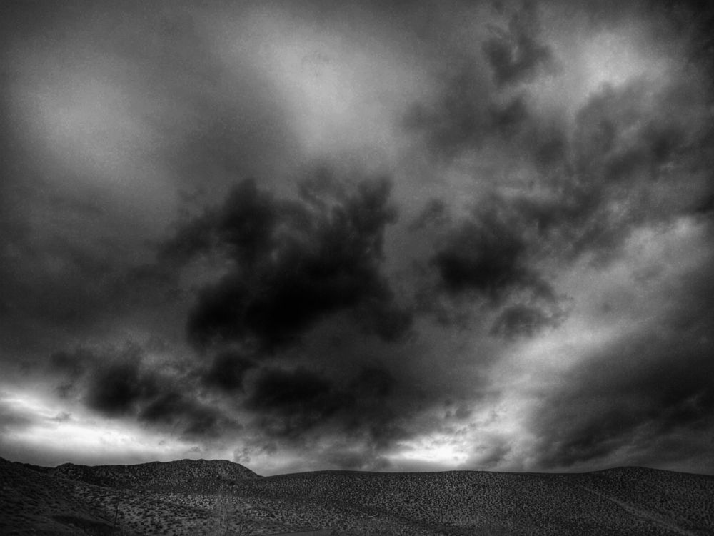 Photo in Black and White #clouds