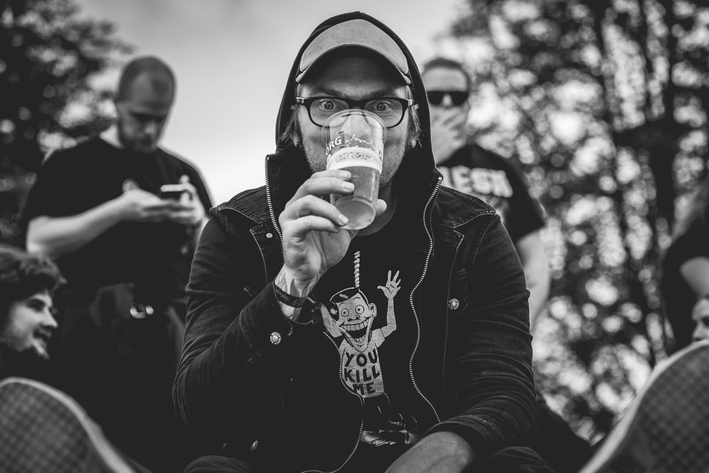 Photo in Black and White #stig buckholm #tons of rock #festival #fredriksten festning #halden #østfold #norge #norway #2016 #punkrockphoto #bwfoto #bwphoto #blackwhite #canon #canon 6d #canon eos 6d #eos 6d