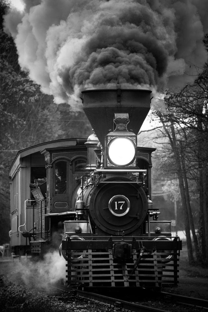 Photo in Black and White #trains #maryland #thorpe #b&w #steam trains #railroad