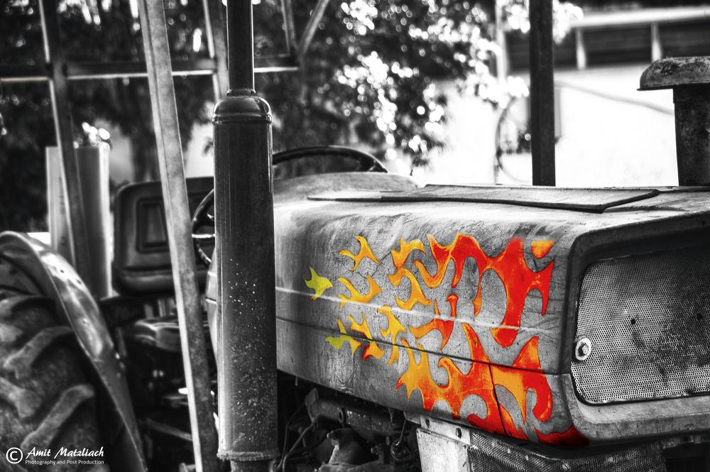 Photo in Random #fast and furious tractor #photo #amit matzliach