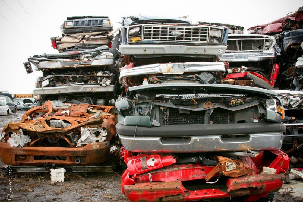 Photo in Vehicle #junkyard #buffalony #junkers #oldcars #canon