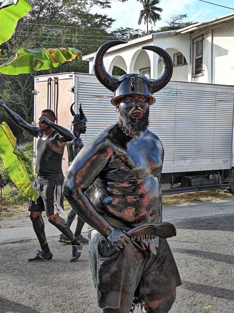 Photo in People #slavery #oil #carnival #people #music #rum