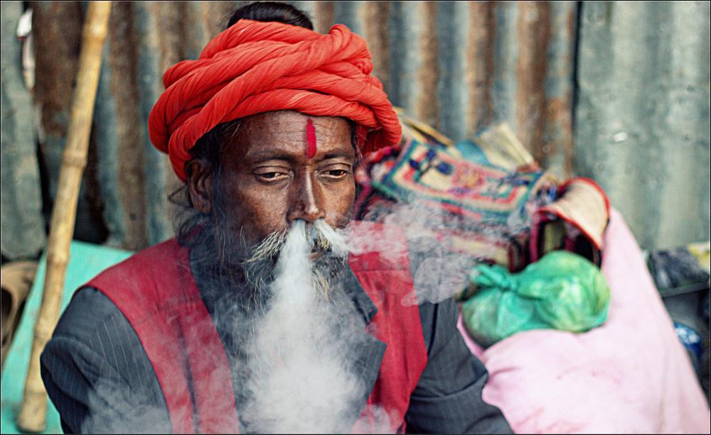 Photo in Portrait #photography #sadhu #gangasagar #potrait #india