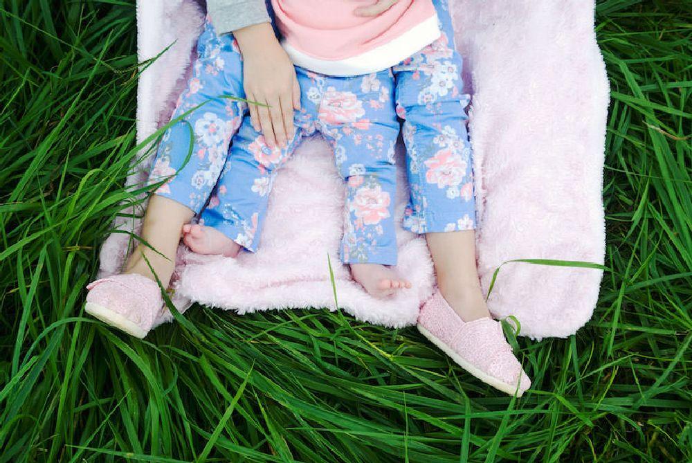 Photo in Family #smokymountains #children #family #girls #grass #baby #nikon