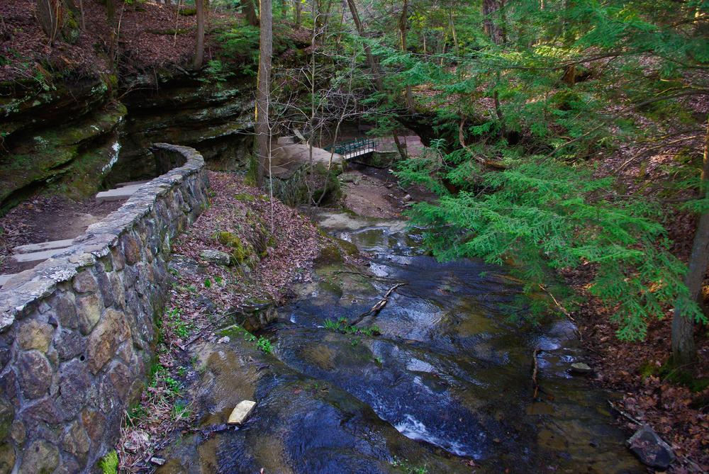 Photo in Nature #water #stream #rocks #trees #path