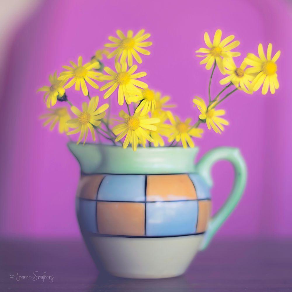Photo in Still Life #flowers #jug #still life #fine art