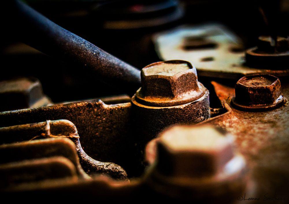 Photo in Macro #metal #rust #bolts #texture #macro #close up