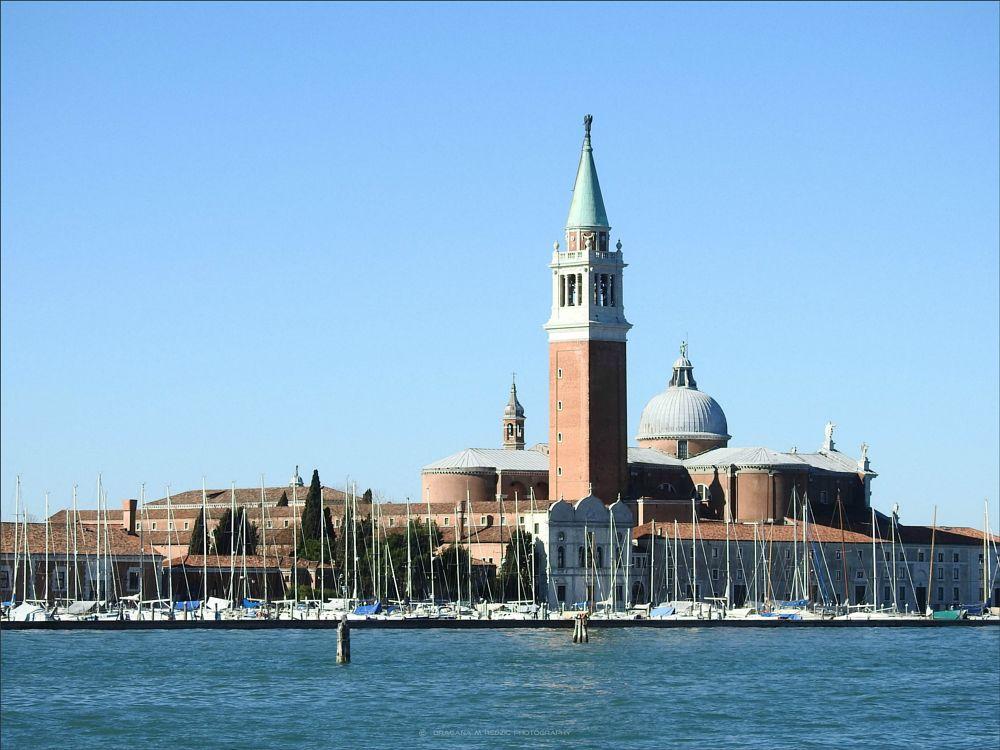 Photo in Architecture #chiesa di san giorgio maggiore #e alla marina per i velieri #architecture