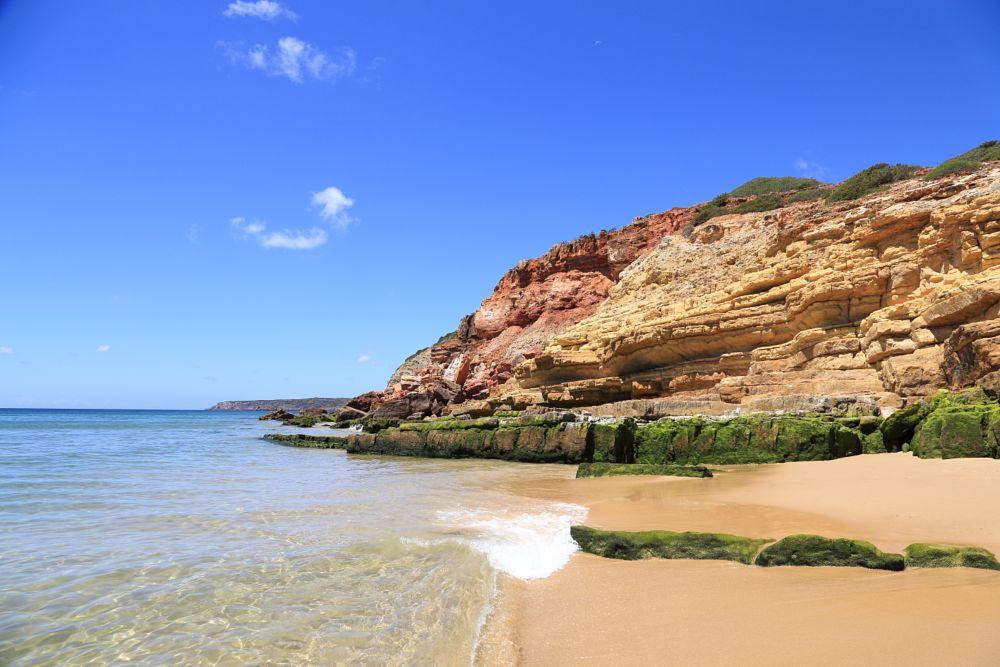 Photo in Sea and Sand #portugal #algarve #beach #salema