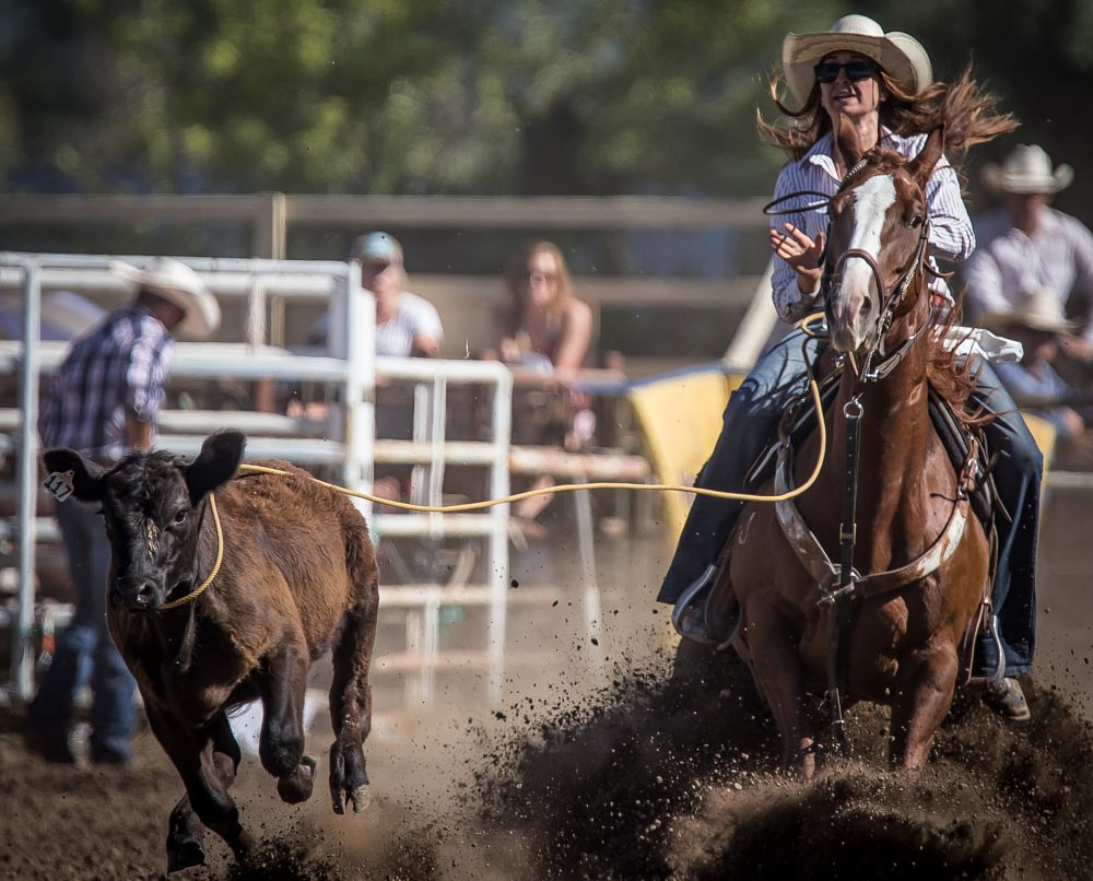 Photo in People #cowgirl #rodeo