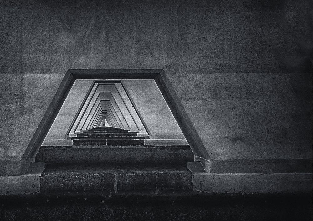 Photo in Random #zeelandbrug #zwart wit