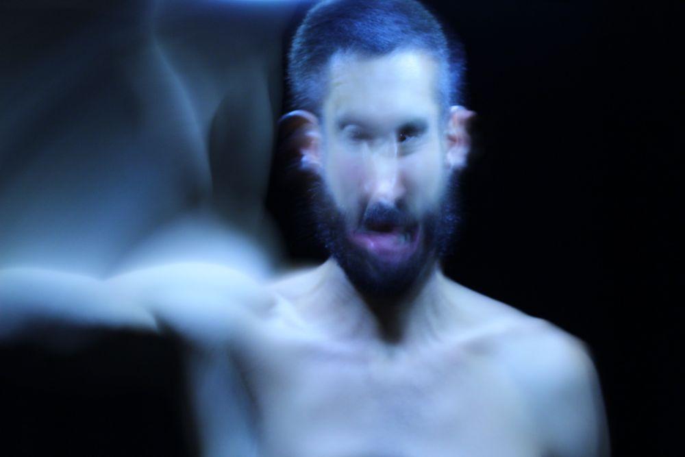 Photo in Fine Art #bat #monkey #scream #monster #freak #male #nude #dark