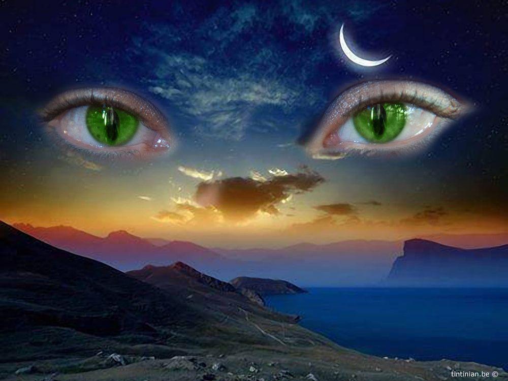 Photo in Fine Art #eyes #fantasy #dream