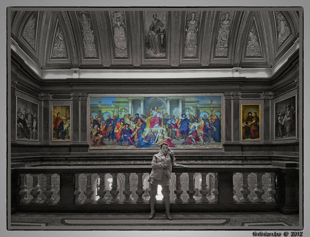 Photo in Interior #museum #tina #tintinian